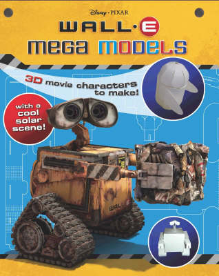 "Disney ""Wall*E"" Mega Models Activity Book"