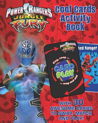 """Disney Activity Book with Card Game: """"Power Rangers"""""""