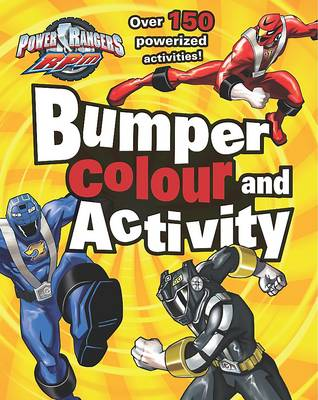 """Disney Bumper Colouring and Activity: """"Power Rangers"""""""