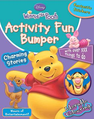 Disney Winnie the Pooh Activity Fun Bumper: With Over 120 Things to Do
