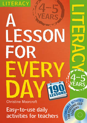 Lesson for Every Day: Literacy Ages 4-5