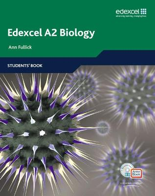 Edexcel A Level Science: A2 Biology Students' Book with ActiveBook CD