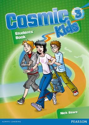Cosmic Kids 3 Greece Students' Book & Active Book 3 Pack