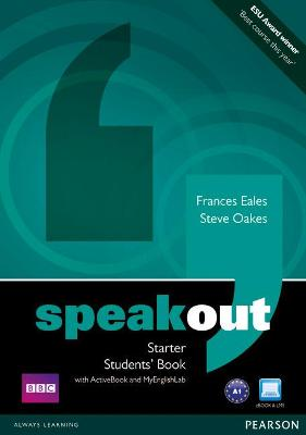 Speakout Starter Students' Book with DVD/Active Book and MyLab Pack