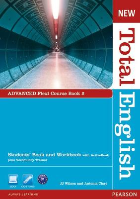 New Total English Advanced Flexi Coursebook 1 Pack