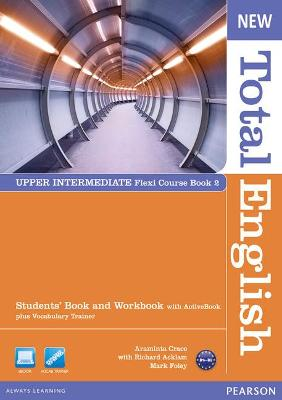 New Total English Upper Intermediate Flexi Coursebook 2 Pack