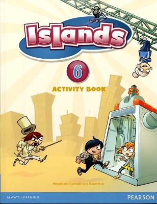 Islands Level 6 Activity Book plus pin code
