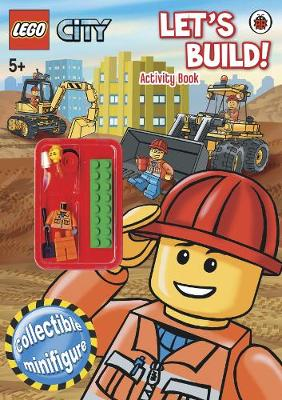 Lego City: Let's Build! Activity Book with Lego Figurine