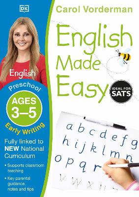 English Made Easy Early Writing Ages 3-5 Preschool