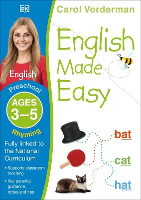 English Made Easy Rhyming Ages 3-5 Preschool