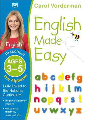 English Made Easy The Alphabet Ages 3-5 Preschool