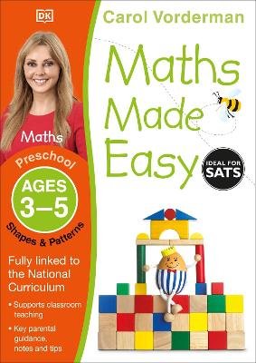 Maths Made Easy Shapes and Patterns Ages 3-5 Preschool