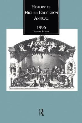 History of Higher Education Annual: 1996