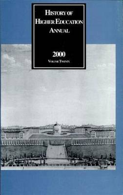 History of Higher Education Annual: 2000