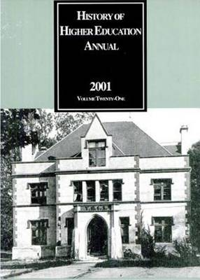 History of Higher Education Annual: 2001