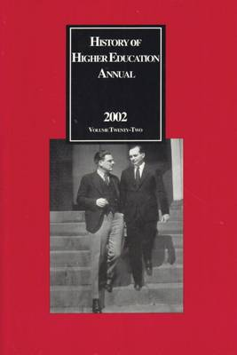History of Higher Education Annual: 2002