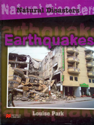 Natural Disasters Earthquakes Macmillan Library