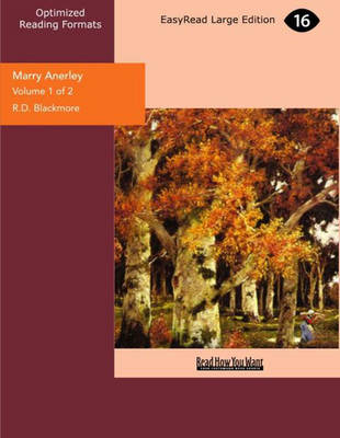 Marry Anerley (2 Volume Set): A Yorkshire Tale