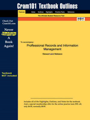 Studyguide for Professional Records and Information Management by Melesco, Stewart &, ISBN 9780078227790