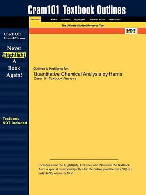 Studyguide for Quantitative Chemical Analysis by Harris, ISBN 9780716770411