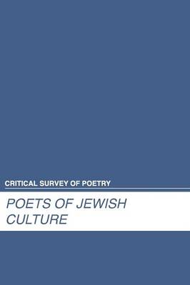 Poets of Jewish Culture