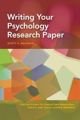 Writing Your Psychology Research Paper