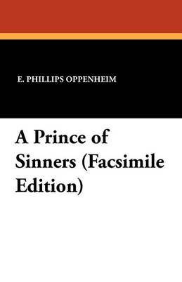 A Prince of Sinners (Facsimile Edition