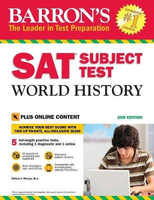 Barron's SAT Subject Test World History with Online Tests