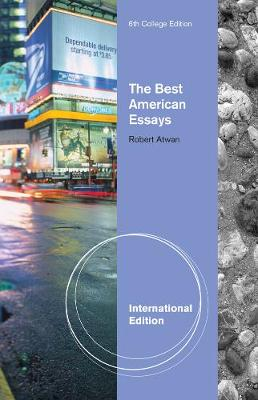The Best American Essays, International Edition