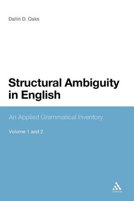 Structural Ambiguity in English: An Applied Grammatical Inventory