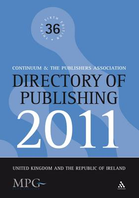 Directory of Publishing 2011: United Kingdom and the Republic of Ireland