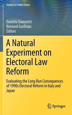 A Natural Experiment on Electoral Law Reform: Evaluating the Long Run Consequences of 1990s Electoral Reform in Italy and Japan