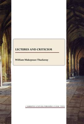 Lectures and Criticism