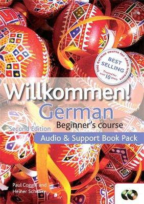Willkommen - CD with support book