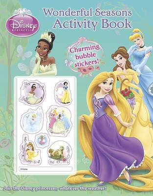 Disney Princess Wonderful Seasons Activity Book with Stickers