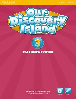 Our Discovery Island American Edition Teachers Book with Audio CD 3 Pack