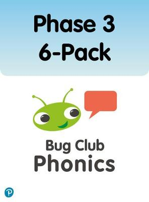 Phonics Bug Phase 3 6-pack