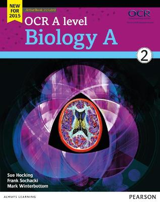OCR A level Biology A Student Book 2 + ActiveBook