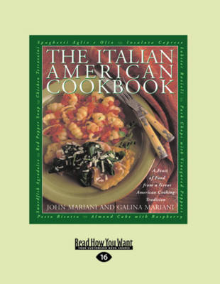 The Italian-American Cookbook (2 Volume Set)
