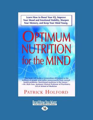 New Optimum Nutrition for the Mind: v. 1: Parts 1-5