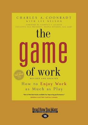 The Game of Work (1 Volume Set): How to Enjoy Work as Much as Play