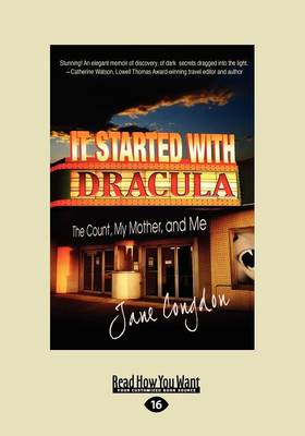 It Started with Dracula:: The Count, My Mother and Me