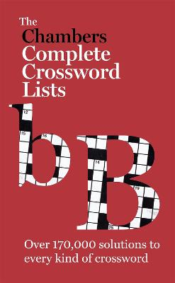 The Chambers Crossword Lists - New Edition: Book