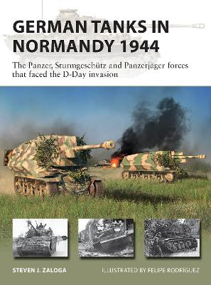 German Tanks in Normandy 1944: The Panzer, Sturmgeschutz and Panzerjager forces that faced the D-Day invasion