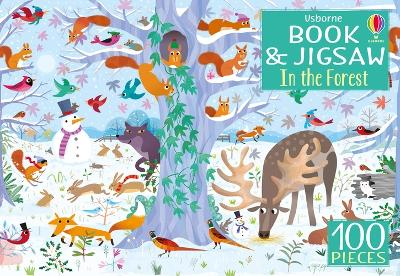 Usborne Book and Jigsaw: In the Forest