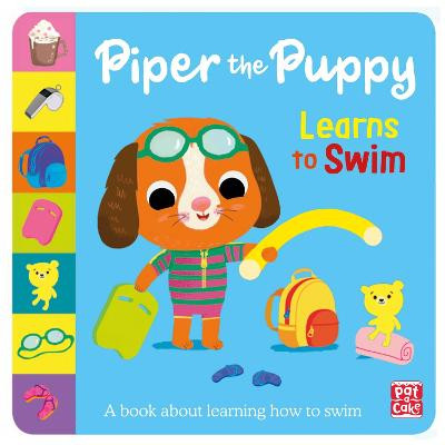 First Experiences: Piper Puppy Learns to Swim