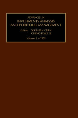 Advances in Investment Analysis and Portfolio Management: v. 1