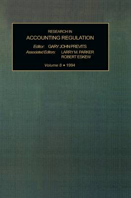 Research in Accounting Regulation: v. 8