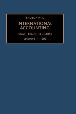 Advances in International Accounting: Volume 5