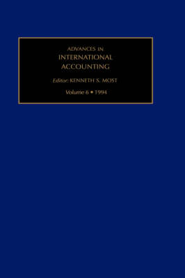 Advances in International Accounting: Volume 6